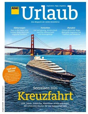 ADAC Urlaub Januar-Ausgabe 2020 Nordrhein