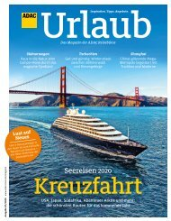 ADAC Urlaub Januar-Ausgabe 2020 Württemberg