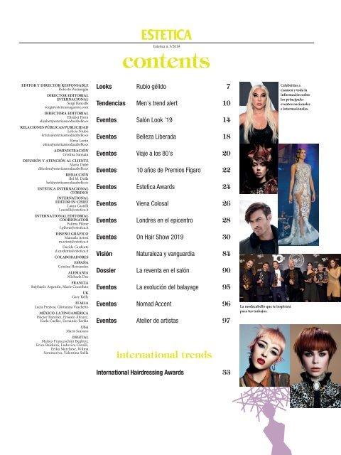 Estetica Magazine ESPAÑA (5/2019)