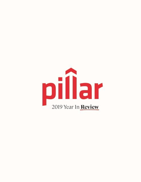 Pillar 2019 Year in Review