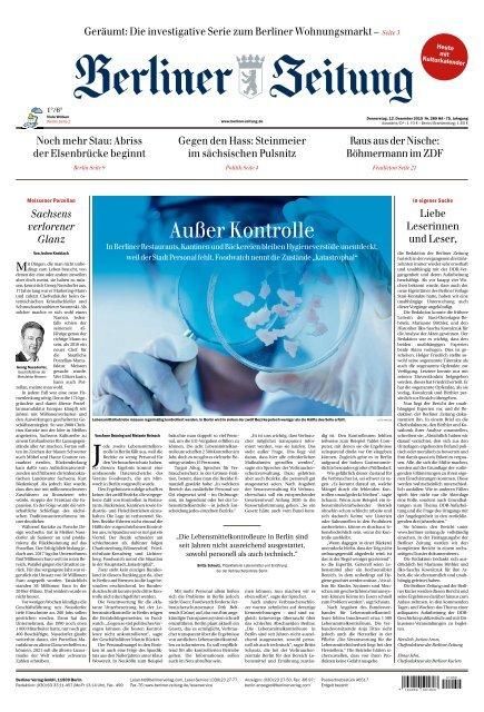 Berliner Zeitung 12.12.2019