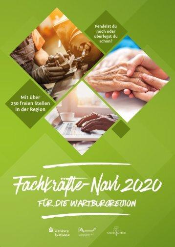 Fachkräfte-Navi für die Wartburgregion 2020