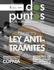 Dos:Puntos - Informativo Laboral Godoy Córdoba - Diciembre 2019