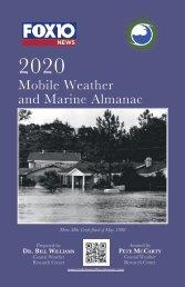 Weather Almanac 2020