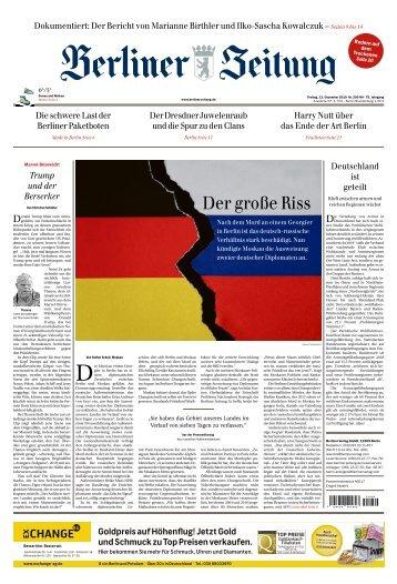 Berliner Zeitung 13.12.2019