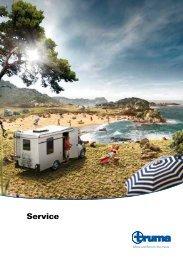 Service - caravan service team