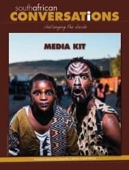 South African Conversations Collaboration & Media Kit