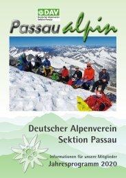 Passau alpin 2020