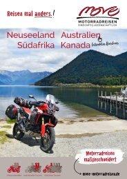 MoVe-Motorradreisen Reisebroschüre 2020/2021