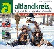 ALTLANDKREIS - Das Magazin für den westlichen Pfaffenwinkel, Ausgabe Januar/Februar 2020