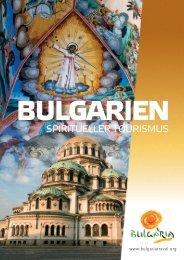 Bulgarien-  spiritueller Tourismus