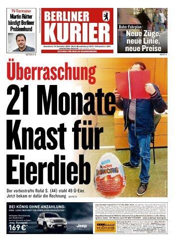 Berliner Kurier 14.12.2019