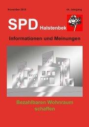 SPD Halstenbek – Informationen und Meinungen (September 2015)