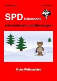 SPD Halstenbek – Informationen und Meinungen (Dezember 2012)