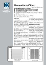 632 Elite Information Sheet - Memco
