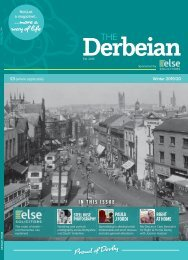 The Derbeian Winter 2019/20 Edition