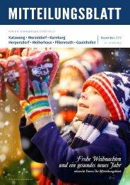 Nürnberg-Worzeldorf/Kornburg/Katzwang - Dezember 2019