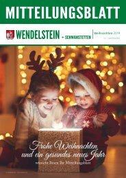 Mitteilungsblatt Wendelstein - Dezember 2019