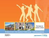 The Haven at Cosner's Corner Apartments Printable Brochure ...