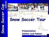 Snow Soccer Tour Präsentation Zahlen und Fakten - Snow+Promotion