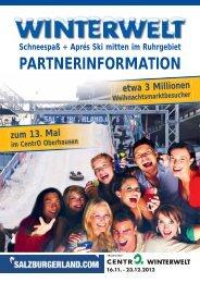 PARTNERINFORMATION - Snow+Promotion