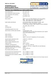 POWDERstream WellnessBOX Basic - Snow+Promotion