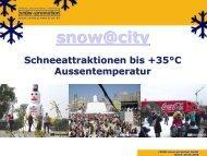 Biathlonstrecke indoor oder outdoor - Snow+Promotion
