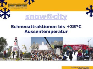 Biathlonstrecke indoor oder outdoor - Snow+Promotion