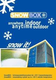 indoor - Snow+Promotion