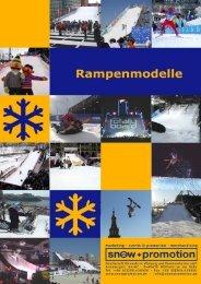 Weitere Informationen und Rampenmodelle - Snow+Promotion