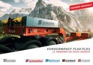 Scheuerle semi-remorque surbaissée EuroCompact FL