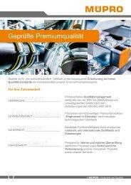 MÜPRO - Geprüfte Premiumqualität AT