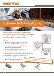 MÜPRO Befestigungslösungen Industrie- und Anlagenbau AT