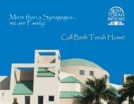 Beth Torah Benny Rok Campus - Final Brochure
