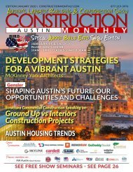 Austin 2020 Construction Monthly
