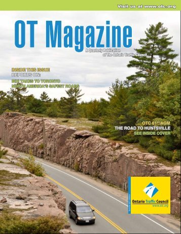 OT Magazine - Ontario Traffic Conference (OTC)