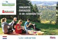 Urlaubsmagazin Bad Sachsa und Walkenried 2020 - Uw vakantie Bad Sachsa 2020, NL