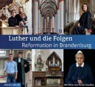Leseprobe: Luther und die Folgen - Reformation in Brandenburg