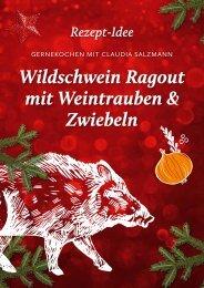 Weihnachtsrezept Wildschwein Ragout