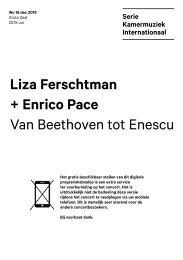2019 12 18 Liza Ferschtman + Enrico Pace