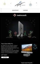 Entdecken Sie die Twelve South Geschenkideen