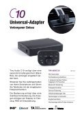 Tiny Audio Cseries Kfz DAB-Katalog Deutsch - Seite 7
