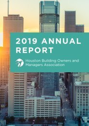 2019 Houston BOMA Annual Report