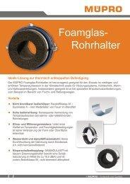 MÜPRO Foamglas-Rohrhalter AT