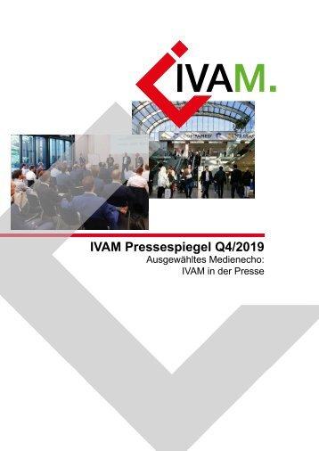 IVAM Pressespiegel Quartal4
