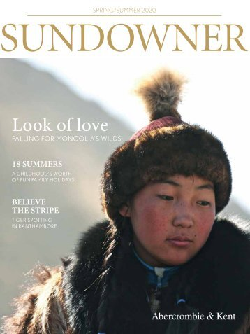 Sundowner Magazine: Spring/Summer 2020