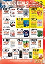 3 Week Deals for Retailers - Scotland