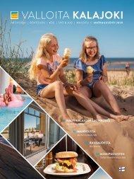 Valloita Kalajoki -matkailulehti 2020 FI