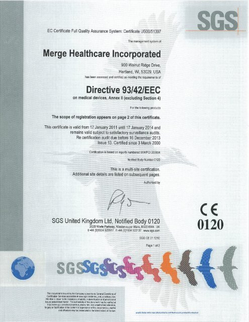eec mdd certificate merge healthcare
