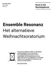 2019 12 19 Ensemble Resonanz